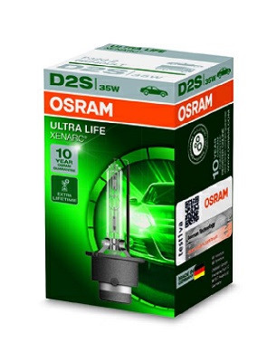 Лампа ксенона Osram D2S Xenarc Ultra Life P32D-2 В 4 Раза Увеличен Срок Службы