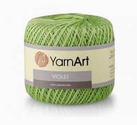 Пряжа Violet 50гр - 282м (5352 Салатовый) YarnArt
