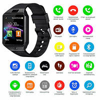 Смарт часы Smart Watch DZ09 + камера
