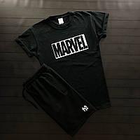 Чоловіча футболка 3 кольори, принт MARVEL S M L XL   мужская белая черная с принтом Марвел 44 46 48 50