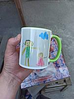 Печать картинки на чашке! цвета разные!
