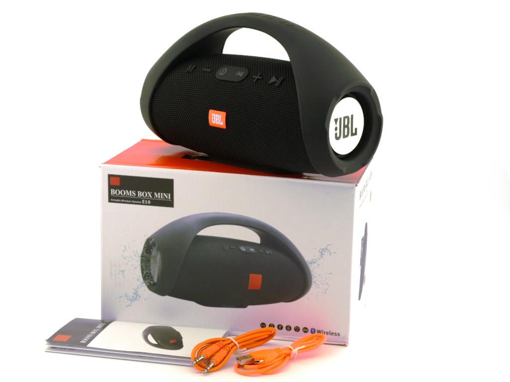 Колонка JBL Boombox mini E10 black