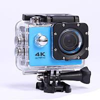 Экшн камера D-800 Черный/Голубой, фото 1