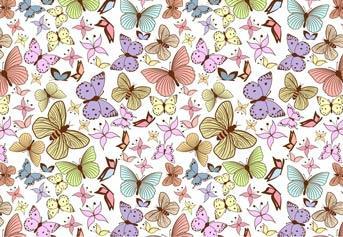 """Вафельна картинка """"Метелики"""""""