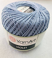 Пряжа Violet 50гр - 282м (58 Голубой) YarnArt