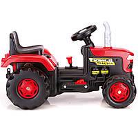 Трактор аккумуляторный DOLU 6V Красный с черным 8061, КОД: 1811117