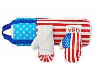 Боксерский набор Danko Toys Америка L-USA размер большой Разноцветный 37-SAN004, КОД: 922597