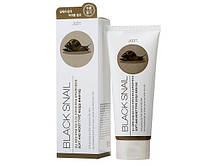 Пилинг-гель с муцином улитки Jigott Premium Facial Black Snail Peeling Gel 180мл J0101, КОД: 1600669