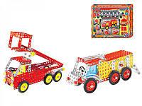 Детский конструктор ТЕХНОК Пожарная техника 2056 212 деталей 2-2056-22635, КОД: 118413