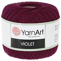 Пряжа Violet 50гр - 282м (112 Бордовый) YarnArt