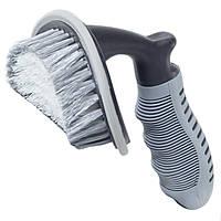 Щетка для мытья Lesko 21-3B 1123 Серая 1245-6902, КОД: 1660908