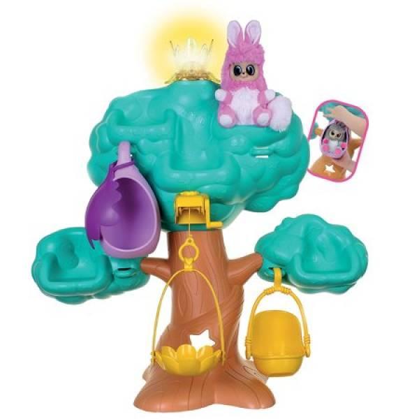 Fur Babies Будиночок-дерево солодкі сни з хутряним немовлям World Dream Tree Moose
