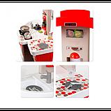 Smoby Раскладывающаяся интерактивная игровая кухня шеф повар красная 312203 Chief mini Tefal Kitchen, фото 2