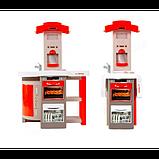 Smoby Раскладывающаяся интерактивная игровая кухня шеф повар красная 312203 Chief mini Tefal Kitchen, фото 3