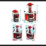 Smoby Раскладывающаяся интерактивная игровая кухня шеф повар красная 312203 Chief mini Tefal Kitchen, фото 5