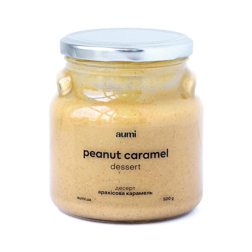 Арахисовая карамель, десерт, 500г, СТЕКЛО арахисовая паста соленая карамель
