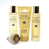 Подарочный набор по уходу за лицом Images Snail с муцином улитки 3951-11515, КОД: 1583873