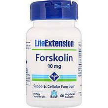 """Форсколин Life Extension """"Forskolin"""" поддержка клеточной функции, 10 мг (60 капсул)"""