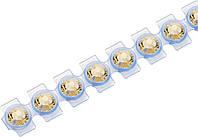 Кристаллы Сваровски Swarovski Elements Knorr Prandell для текстиля на ленте SS10  2,8 мм Топаз 21, КОД: 1538830