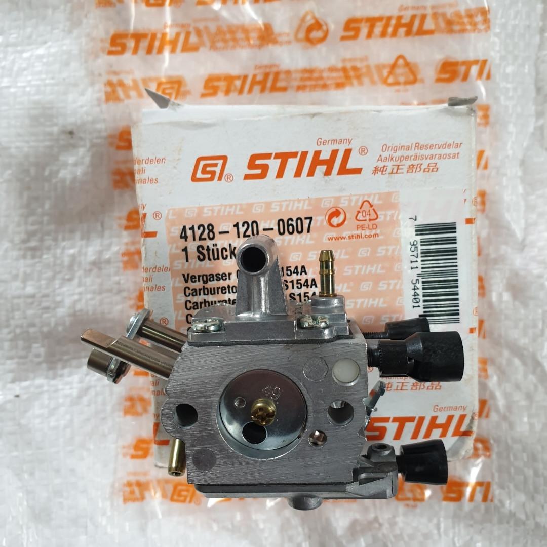 Мотокоса STIHL FS 450 Карбюратор длинная тяга под трос 41281200607  оригинал