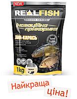 Прикормка Real Fish Линь-карась творог