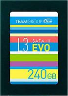 Накопитель SSD 240GB Team L3 EVO 2.5 SATAIII TLC T253LE240GTC101, КОД: 1684851