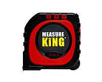 Универсальная рулетка Measure King 3 в 1 Черно-красный 1768, КОД: 1126887