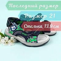 Детская летняя обувь босоножки спортивные мальчику тм Тom.m р.21, фото 1