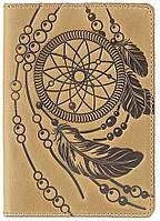 Обложка на паспорт SHVIGEL Светло-коричневый 15303, КОД: 182286