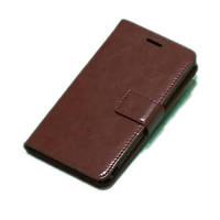 Чехол книжка для телефона Sony Z коричневый
