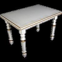 Стол обеденный Клевер Мебель 1100х760х700 мм Ванильный hubRaPW08893, КОД: 1786952