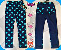 Лосины для девочки на флисе 532-1 Mari
