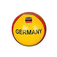 Футбольный мяч из ПВХ для детей 5 размер PVCBG0198 Yellow-Red gabrp115lHPi80781, КОД: 916353