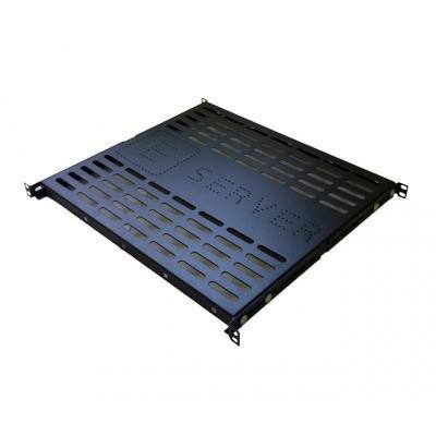 Полка 19 ESERVER 1U, глуб. 400 мм. (PS-1U-400-B) PS-1U-400-B 236090-01-СТ