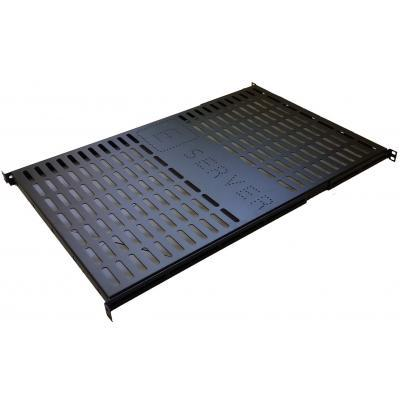 Полка 19 ESERVER 1U глуб. 650 мм. (PS-1U-650-B) PS-1U-650-B 103084-01-СТ