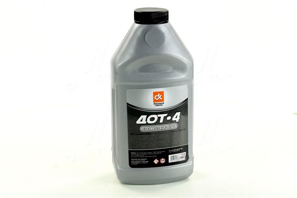 Жидкость тормозная DOT4 438г (Дорожная Карта)  4802617331
