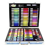 Большой набор детский для рисования и творчества Painting Set Blue 150 предметов 3965-11494, КОД: 1559716