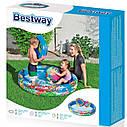Надувной бассейн Bestway пятьдесят тысяча сто двадцать четыре с кругом и мячом, фото 3