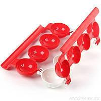 Форма для изготовления фаршированных мясных шариков Stuffed Ball Maker Красный 3234, КОД: 1541486