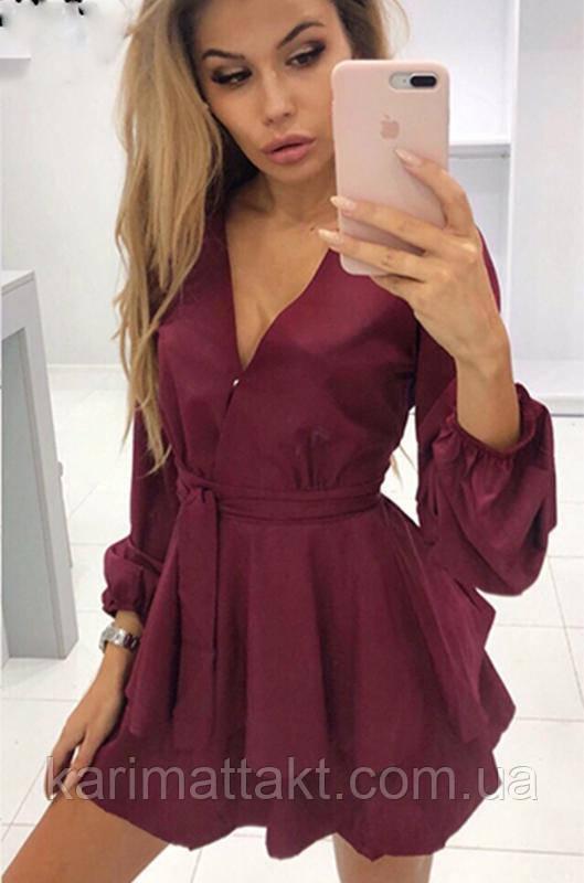 Комбинезон платье- шорты. Ромпер