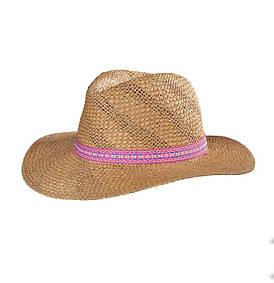 Соломяний капелюх жіночий пляжний Feba F65/KAP17/20/UNIVER