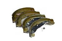 Колодки тормозные барабанные ОПЕЛЬ АСТРА F-G, VECTRA B, ZAFIRA (производство  Bosch) AСТРA  Г, AСТРA  Ф, КОМБО, 0 986 487 554