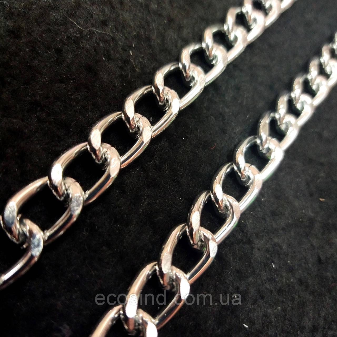 Декоративные цепи для сумок и одежды на метраж (НДК-16-ник)