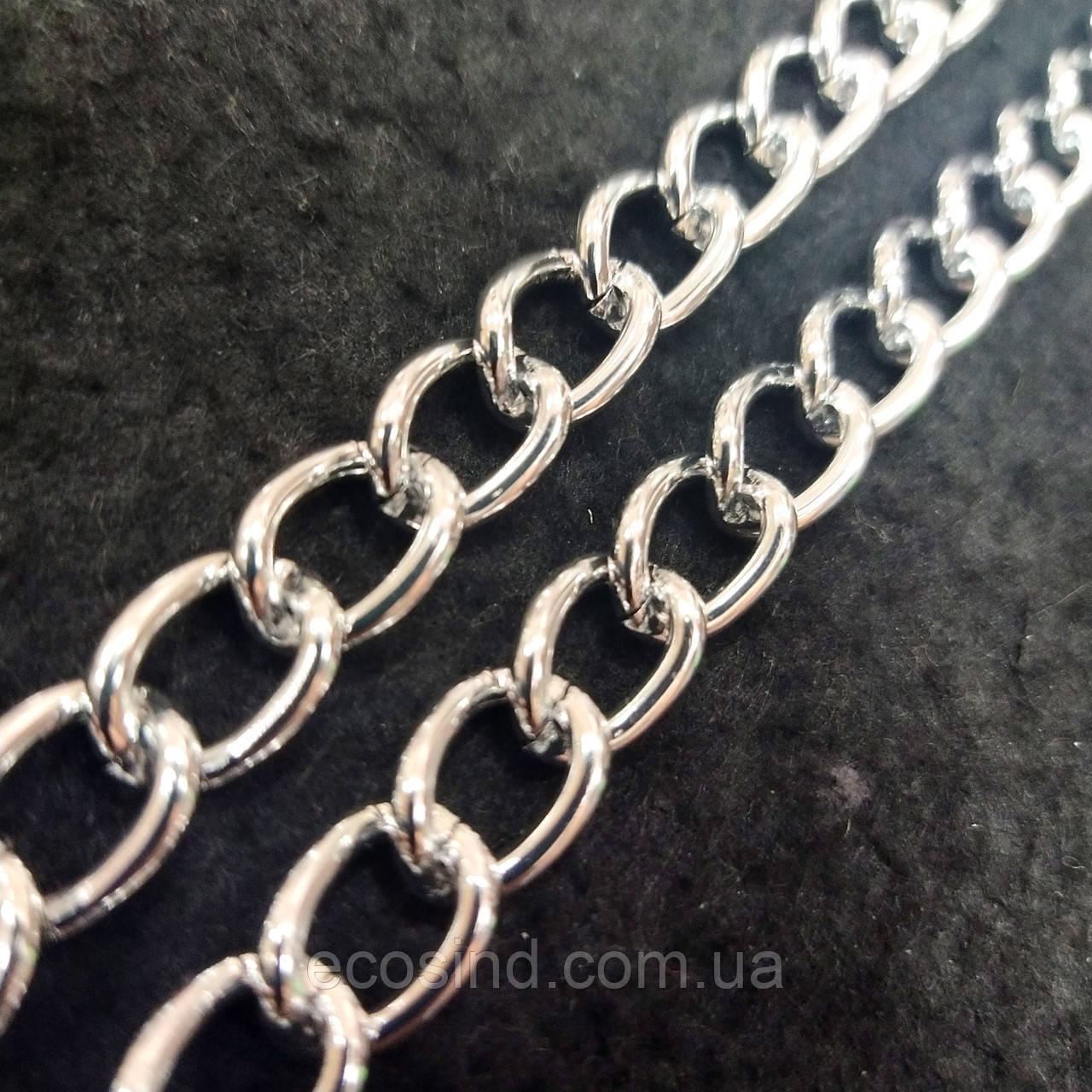 Декоративные цепи для сумок и одежды на метраж (НДК-3-ник)