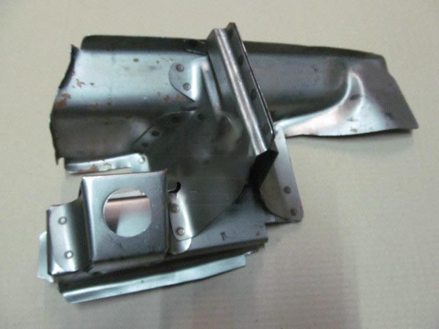 Поддомкратник задний правый ВАЗ 2101, 2102, 2103, 2104, 2105, 2106, 2107 в сборе (производство  Экрис)  21010-5101066-00