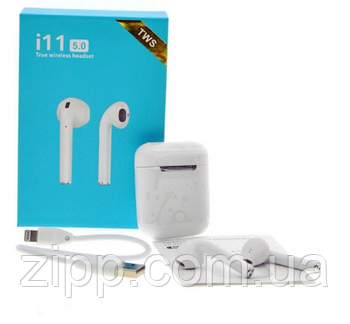 Бездротові навушники HBQ i11 TWS Bluetooth 5.0 Sensor Сенсорні кнопки