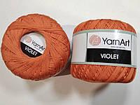 Пряжа Violet 50гр - 282м (5535 Оранжевый) YarnArt