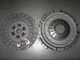 Сцепление (компл.) (корз.+диск 130 б/асб+выж.муфта) ЗИЛ (производство  ТРИАЛ)  130-1601090