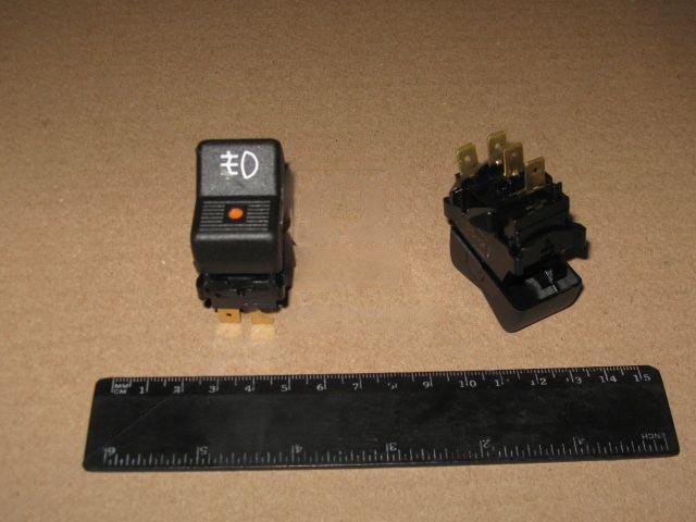 Выключатель противотуманной фары (задней) ВАЗ 2105 (производство  Автоарматура)  26.3710-22.24