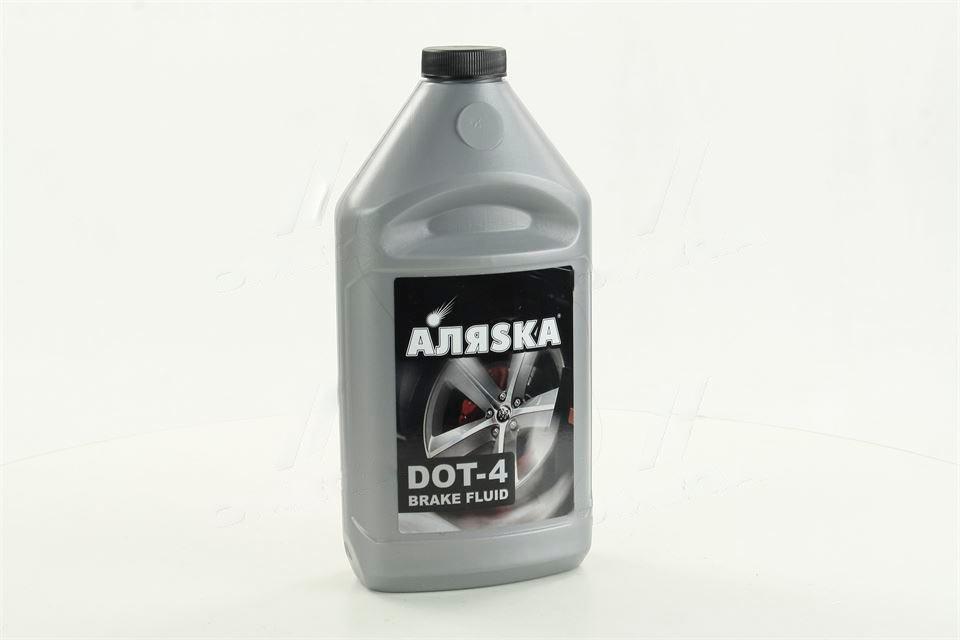 Жидкость тормозная DOT4 АЛЯSКА (серебро) 750г  5438